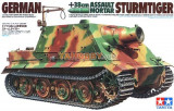 + Macheta 1/35 Tamiya 35177 - German 38cm Assault Mortar Sturmtiger +