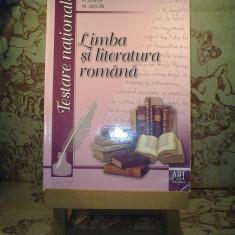 A. Costache - Limba si literatura romana pentru testarea nationala