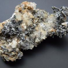 Specimen minerale - STIBINA - Fosila roca