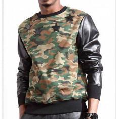 Bluza hanorac camuflaj. Import USA - Hanorac barbati, Marime: S, M, L, Culoare: Negru
