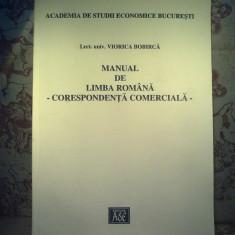 Viorica Bobirca - Manual de limba romana - Corespondenta comerciala - Manual scolar, Alte materii