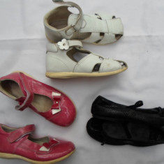 LOT 3 PANTOFI PT. CASA / JOACA, 18 CM INTERIOR, NR. 29, STARE BUNA, GERMANIA - Pantofi copii, Fete