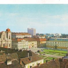 #carte postala(ilustrata)-TIMISOARA-Piata Unirii