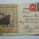 CIRCULATIE GERMANIA-SIBIU 1926 FACTURA