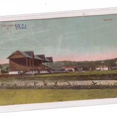 CP carte postala Cluj Stadionul de fotbal U Cluj Napoca 1921 - Carte Postala Muntenia pana la 1904, Circulata, Fotografie