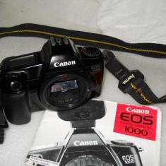 CANON EOS 1000, BODY - Aparat Foto cu Film Canon