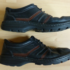 Pantofi Ara 100% piele naturala (, Handmade, cusuti manual; marime 44; ca noi - Pantof barbat Ara, Culoare: Din imagine