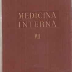 (C5109) MEDICINA INTERNA VOL.VII, 7, APARATUL RESPIRATOR, AUTORI: ACAD. PROF.DR. N.GH.LUPU, H. AUBERT, GH. BUNGETEANU....., EDITURA MEDICALA, 1959