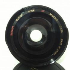 LENTILA SONAR SUPER WIDE AF MACRO 0.42X - Lentile conversie foto-video