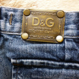 Blugi Dolce&Gabbana D&G Original Denim Made in Italy; marime 32; impecabili