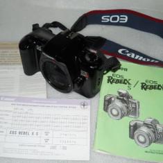 CANON EOS REBEL X S BODY IMPECABIL - Aparat Foto cu Film Canon