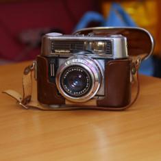 Aparat foto vintage colectie Voigtlander vitomatic IIb + geanta - Aparat Foto cu Film Voigtländer, RF (Rangefinder), Mic