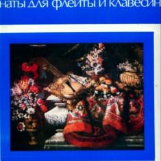 TELEMANN -- VALENTIN ZVEREV - FLUTE / IGOR ZHUKOV - HARPSICHORD VINIL IMPECABIL - Muzica Clasica Altele
