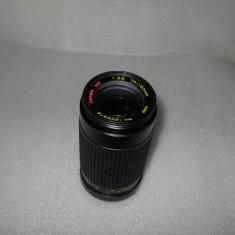 OBIECTIV PE MONTURA MINOLTA MD 75-150mm 3.8, Minolta - Md