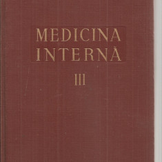 (C5105) MEDICINA INTERNA VOL.III, 3, FICATUL, CAILE BILIARE, PANCREASUL, SINDROMELE CARENTIALE, BOLILE DE NUTRITIE, INTOXICATIILE DE V DIMITRIU, 1956