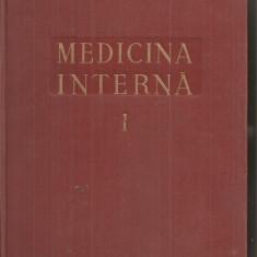 (C5103) MEDICINA INTERNA VOL.I, 1, SEMIOLOGIE SI TERAPEUTICA GENERALA,  DE DR. C. BALACEANU-STOLNICI, 1956
