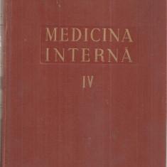 (C5106) MEDICINA INTERNA VOL.IV, 4, INIMA, AUTORI: ACAD. PROF.DR. N.GH.LUPU, DR. N. CUCU, 1957
