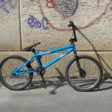 Vând BMX Univega King albastru, stare excelentă - Bicicleta BMX Nespecificat, 20 inch, Numar viteze: 1, Otel