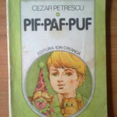 k1 PIF PAF PUF - Cezar Petrescu