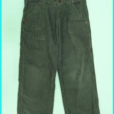 DE FIRMA→ Pantaloni catifea, elastic in talie, DENIM → baieti | 3—4 ani | 104 cm