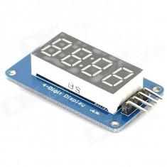 Afisaj LED 4 digiti Arduino / PIC / AVR / ARM / STM32 - Bec / LED