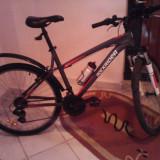MTB Rockrider 5.1 2012 - Mountain Bike Rockrider, 18 inch, 26 inch, Numar viteze: 21, Aluminiu, Gri-Alb