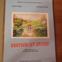 Manual Germana CL 7 - Deutch ist spitze ! didactica si pedagogica