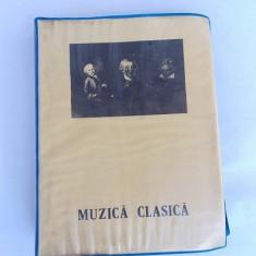 Clasor diapozitive -Muzica clasica -62 bucati