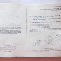 MANUAL TEHNIC AUTO , AUTOTURISMUL DACIA 1300 . ANUL 1975 -  A. BREBENEL ¸ C. MONDIRU ¸ I. FARCASU, Alta editura