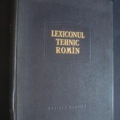 REMUS RADULET - LEXICONUL TEHNIC ROMAN volumul 13 - Carti Mecanica