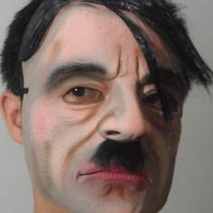 Masca Hitler Nazi Reich Halloween costum petrecere tematica party cosplay +CADOU - Masca carnaval, Marime: Marime universala, Culoare: Din imagine