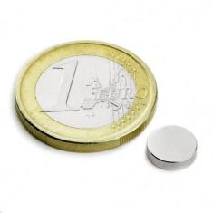 Magnet neodim disc, diametru 8 mm, putere 1, 1 kg