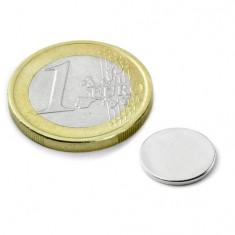 Magnet neodim disc, diametru 12 mm, putere 550 g