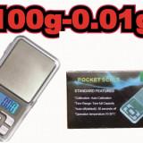 Cantar Electronic Digital Precizie Pentru Bijuterii 100g/0.01g - Cantar bijuterii