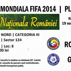 Bilet meci fotbal ROMANIA - GRECIA 19.11.2013