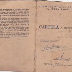 Bnk dv Cartela ratii ianuarie 1945 - Cambie si Cec