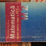 Manual matematica clasa a - Manual scolar, Clasa 12