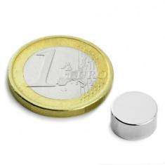 Magnet neodim disc, diametru 10 mm, putere 1 kg