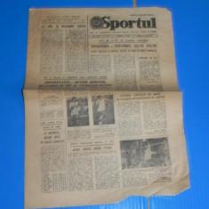 ZIARUL SPORTUL 3 MARTIE 1982 - AVANCRONICA UNIVERSITATEA CRAIOVA - BAYERN MUNCHEN (01069