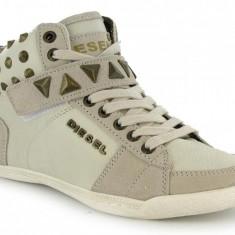 DIESEL pantofi sport dama - sneakers - ORIGINALI - PE STOC - VANZATOR PREMIUM ! - Tenisi dama Diesel, Culoare: Bej, Marime: 40