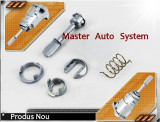 Kit de reparatie inchidere butuc maner usa Volkswagen Lupo ('98-'07) stanga fata, LUPO (6X1, 6E1) - [1998 - 2005]