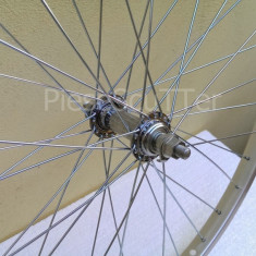"Roata / Janta Fata + Butuc + Spite Bicicleta 24"""