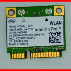 Placa de retea wireless Intel Vpro H006K mini Dell Latitude Inspiron Vostro V91N8