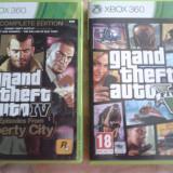 vand jocuri xbox 360 ,originale,ca noi,PAL,GTA V si GTA IV EPISODES FROM LIBERTY CITY ,gta 4