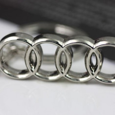 Breloc auto metal pentru AUDI metalic + ambalaj cadou - Breloc Barbati
