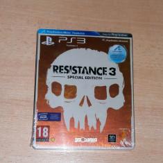 Joc PS3 - Resistance 3 : Special Edition ( steelbook ), sigilat, pentru colectionari - Jocuri PS3 Sony, Shooting, 18+