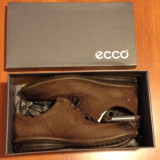 Ecco Contoured Brogue Shoes