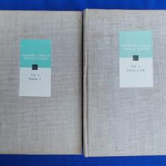 FILOSOFIA GREACA PANA LA PLATON * VOL 1 : PARTEA I SI PARTEA A II-A - 1979 - Filosofie