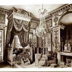 CARTE POSTALA INTERBELICA - NAPOLEON BONAPARTE - DORMITORUL, EDITURA d'Art YVON, PARIS - Fotografie veche