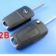 Carcasa cheie auto briceag Opel 2 butoane